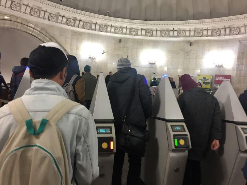 станция Новослободская, метро