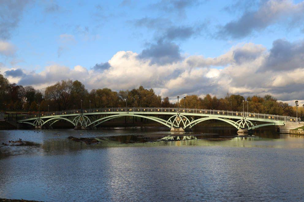 Мост над Царицынским прудом