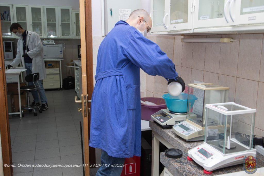 лаборатория, экология Москвы, пожарно-спасательный центр