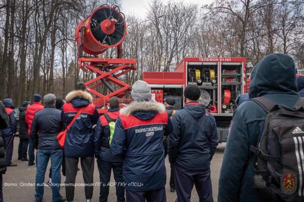 пожарные, Апаринки, обучение