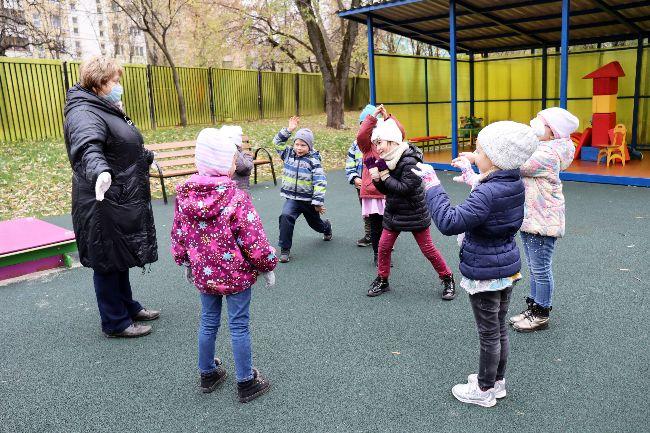 детский сад, спортплощадка