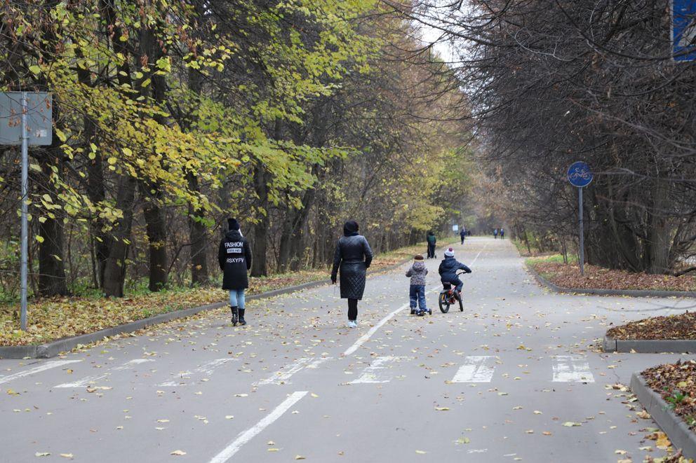 парк Кусково, парки Москвы, осень