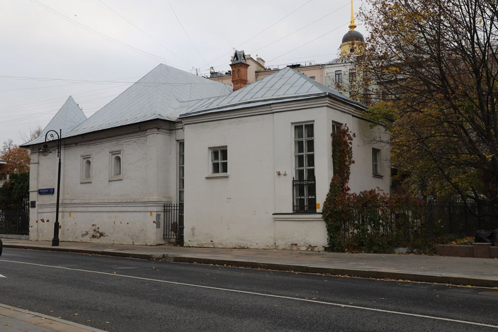 Русские палаты XVII века-старинный гранатный двор, где производили средневековое оружие