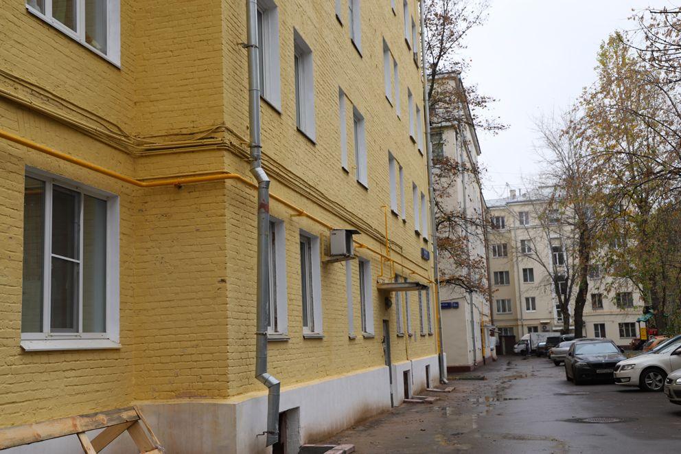 Вид на дворовый фасад