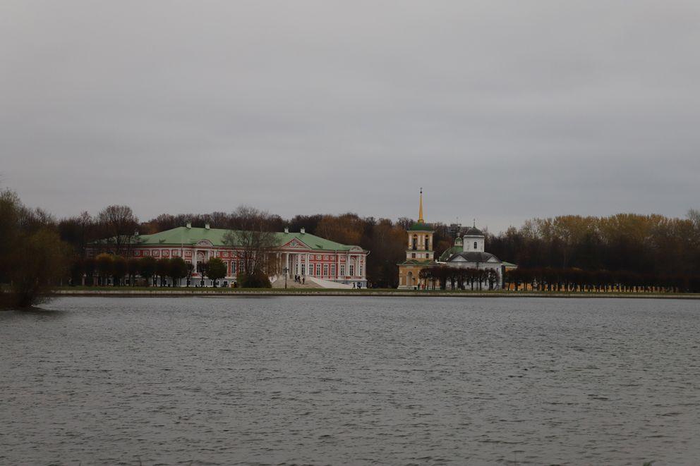 Вид на усадьбу Шереметьевых