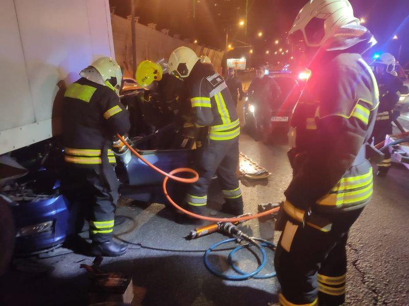 ДТП, происшествия в Москве, спасатели