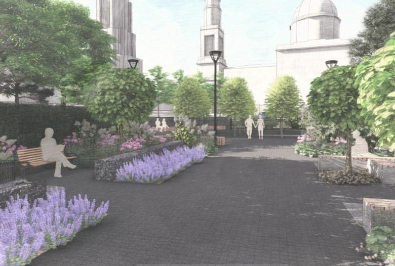 сквер у Храма Севайских мучеников