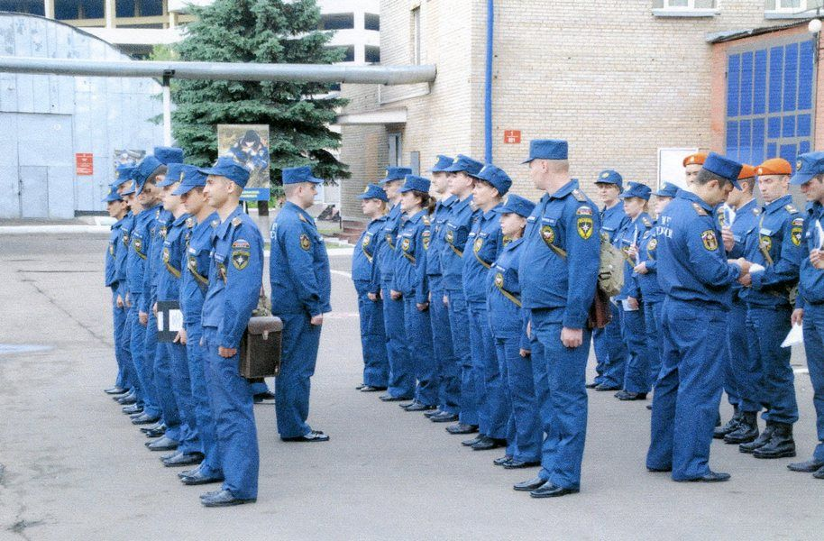 ветераны, день спасателя