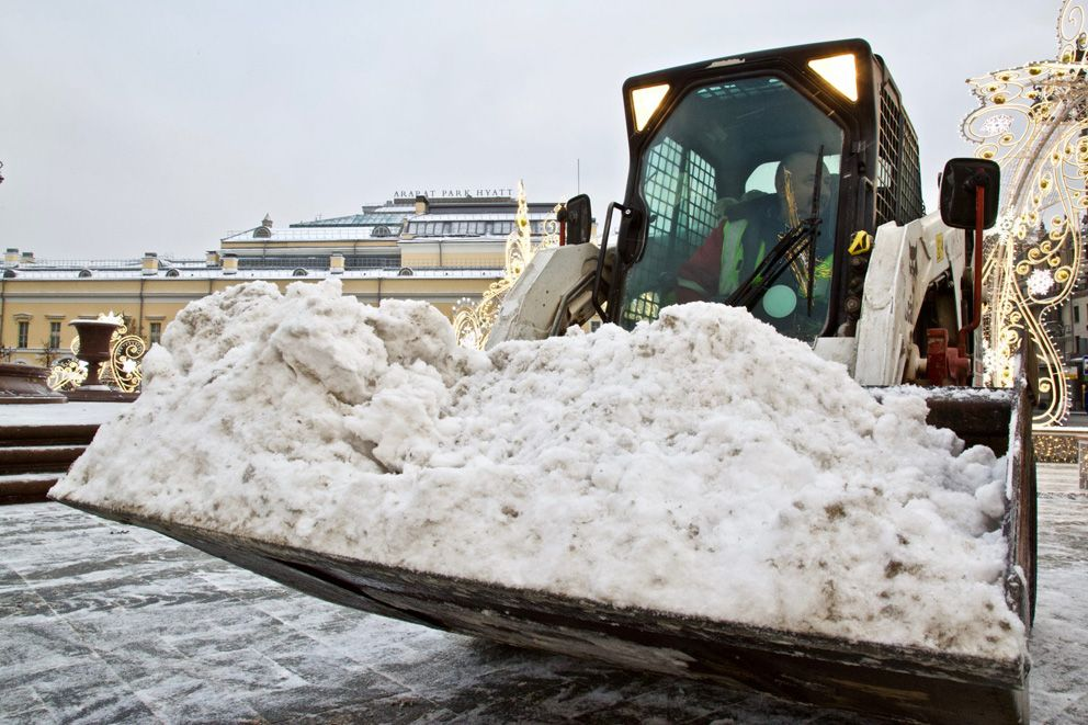 снег, уборка снега
