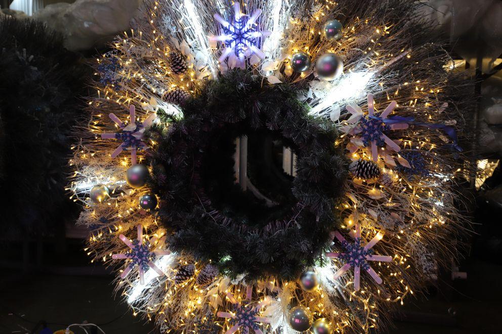 Новогодняя иллюминация, украшение Москвы, новый год