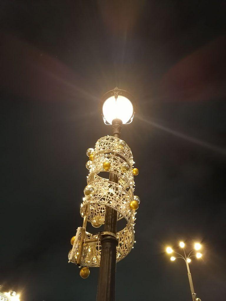 украшение Москвы, новый год, зима в Москве, праздник