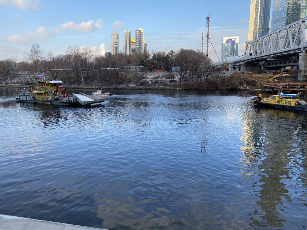 Москва-река, ГУП Мосводосток, набережная