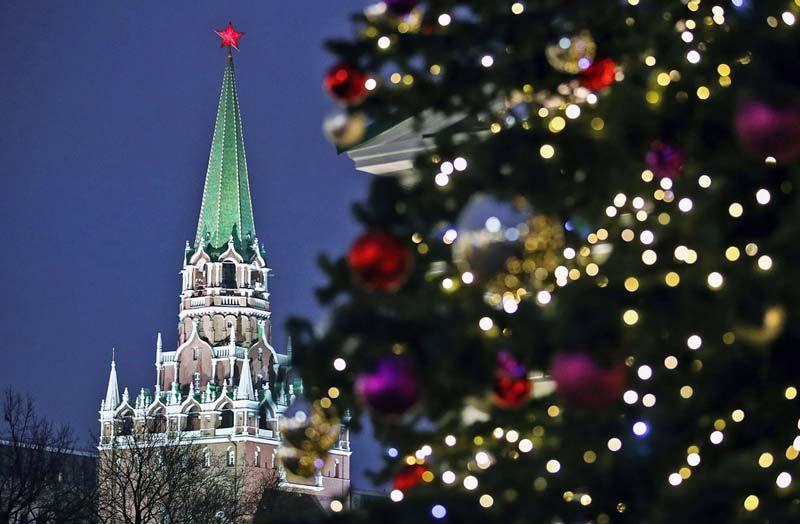 Москва, Новый год