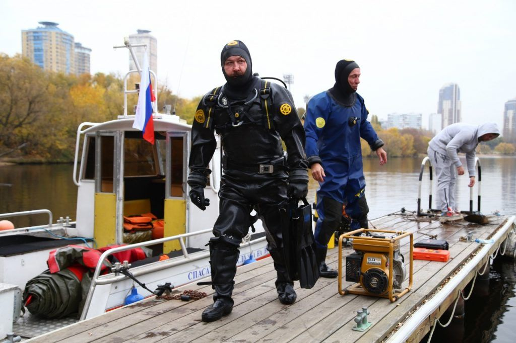 водные спасатели, водоем