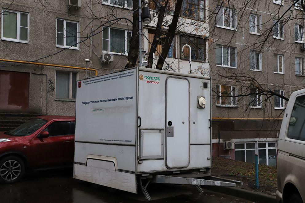 Станция в Очаково, экомониторинг, экология, воздух