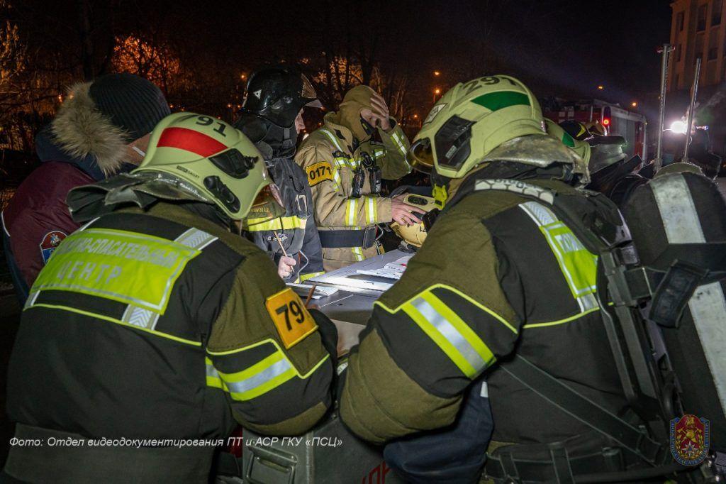 пожар, происшествия в Москве, Котельническая набережная