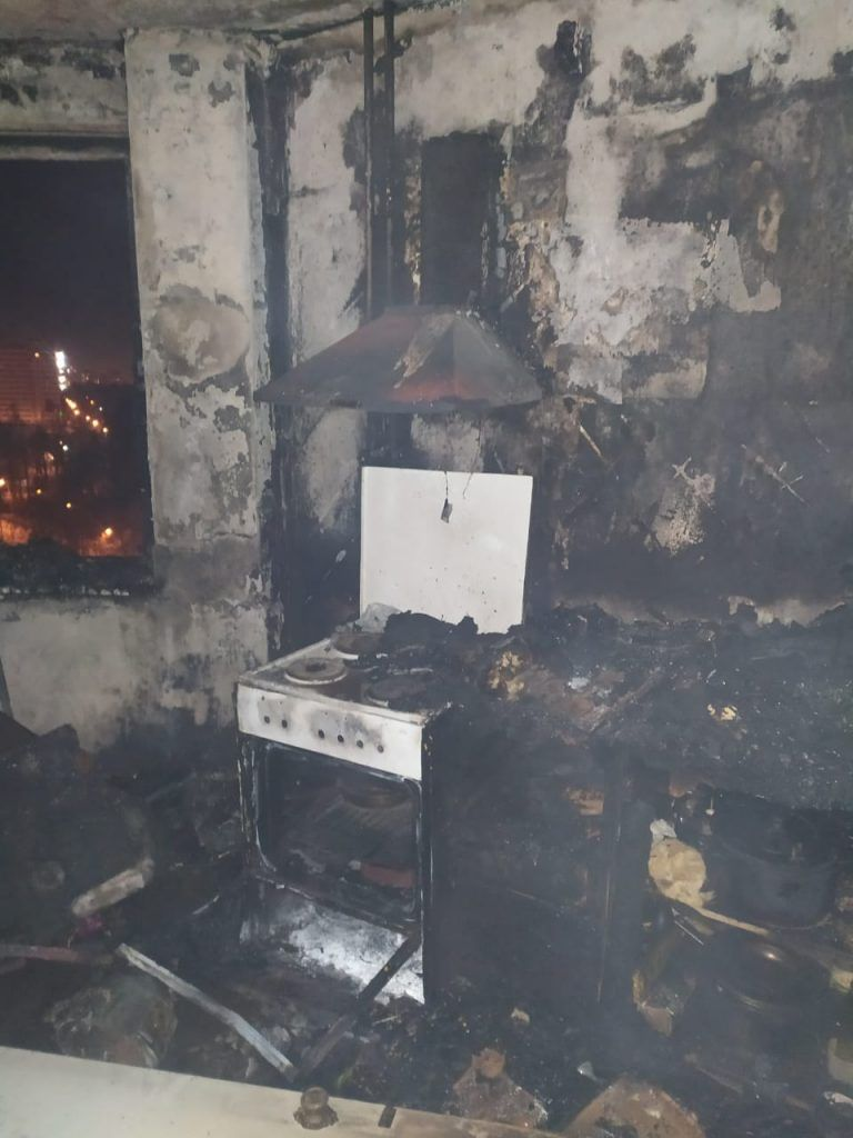 пожар, Зеленоград