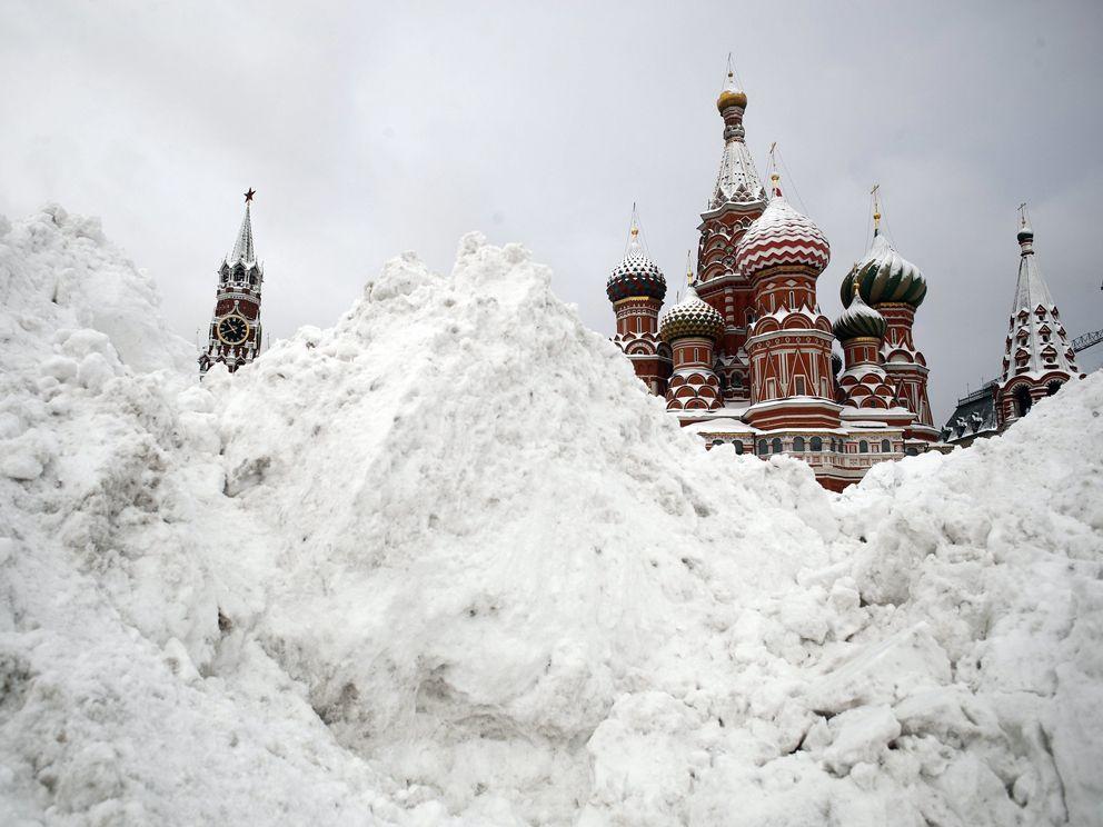уборка снега, зима