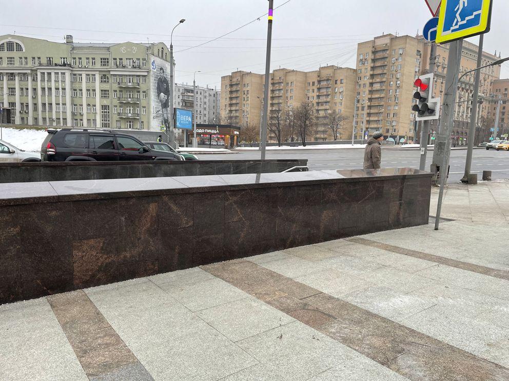 благоустройство Москвы, метро