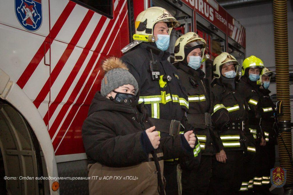 пожарные, акция Елка желаний