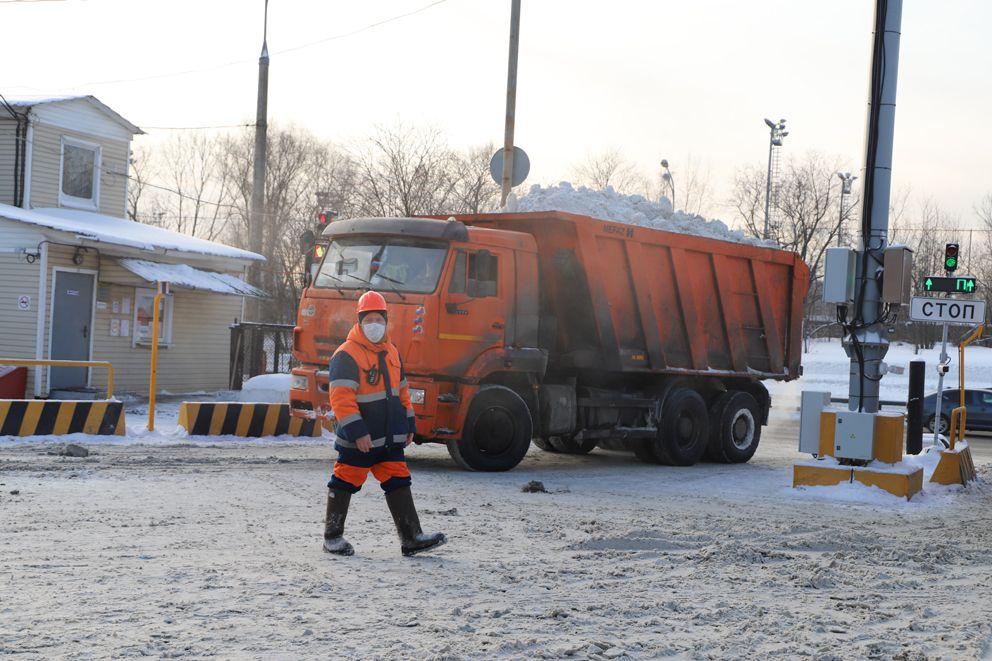 Снегосплавный пункт Черкизово