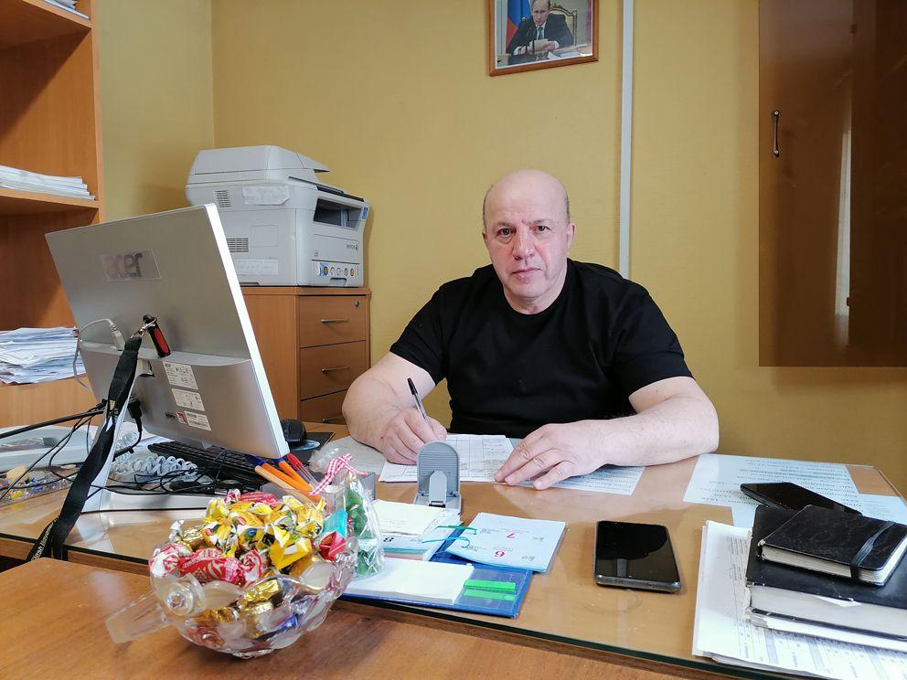 Алексей Бабунашвили, начальник ССП Северное Бутово