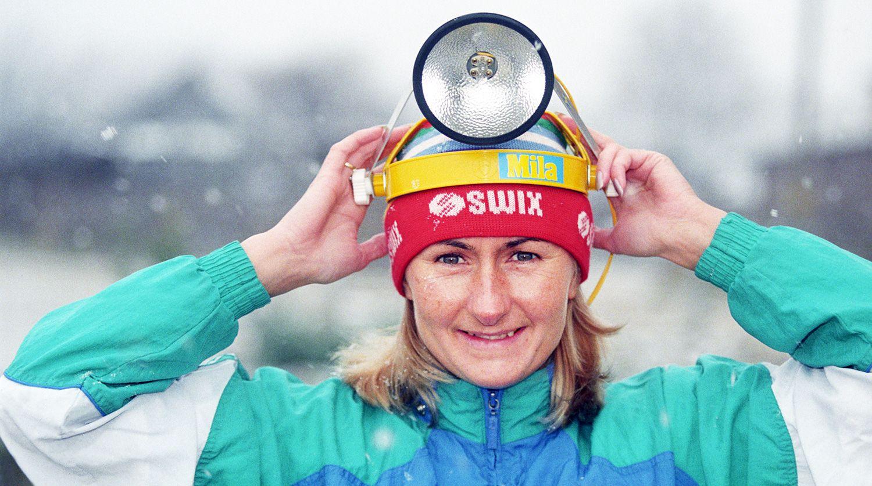 Лыжница Елена Вяльбе, 1997 год