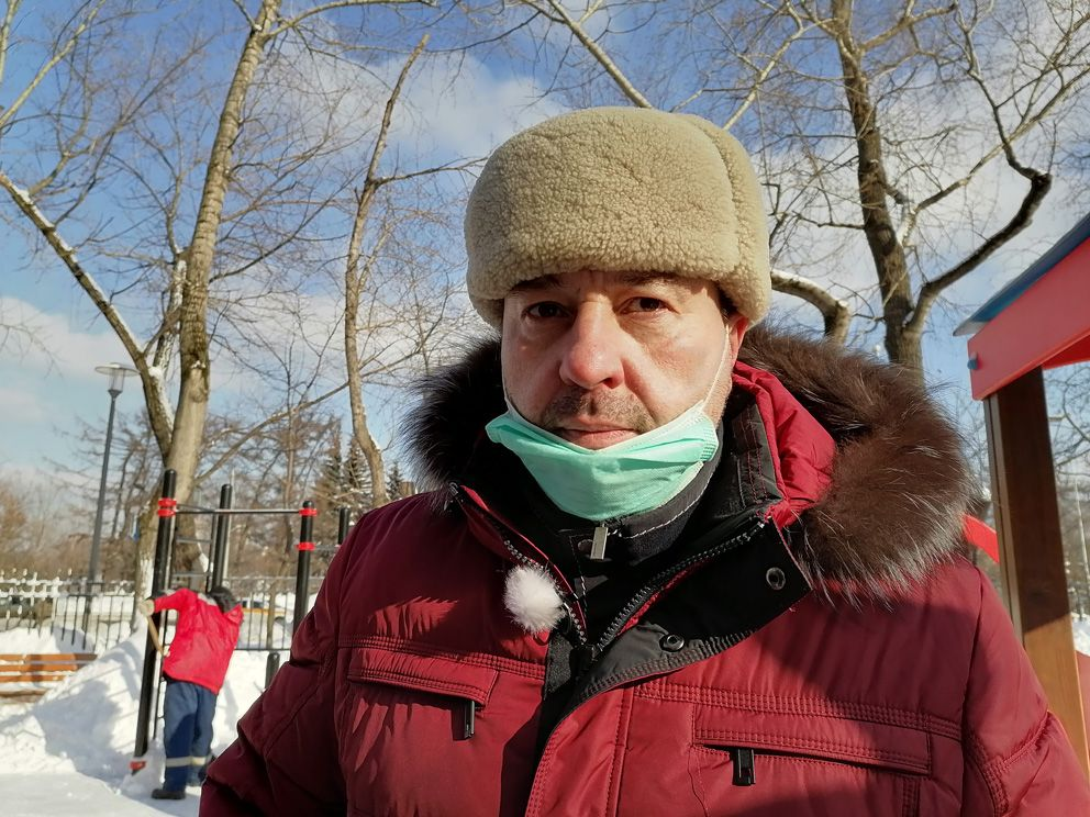 уборка снега, снегопад, зима в Москве