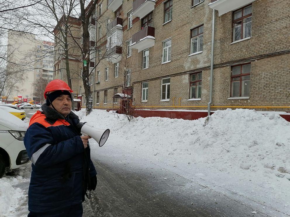 уборка снега, детская площадка