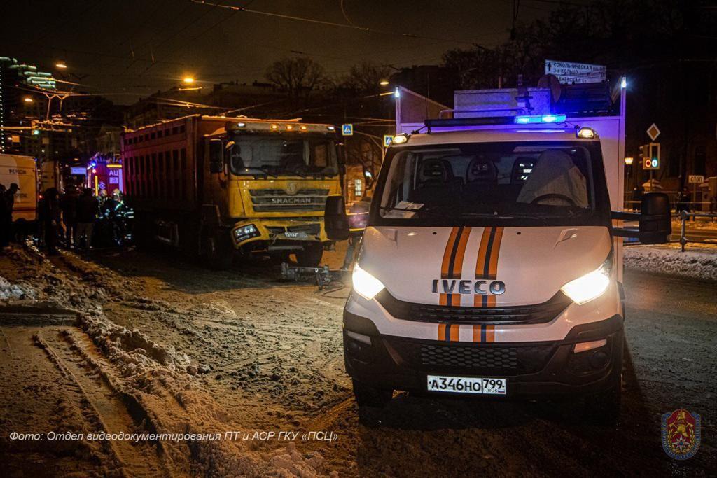 ДТП, происшествия в Москве, Стромынка, Сокольники, спасатели