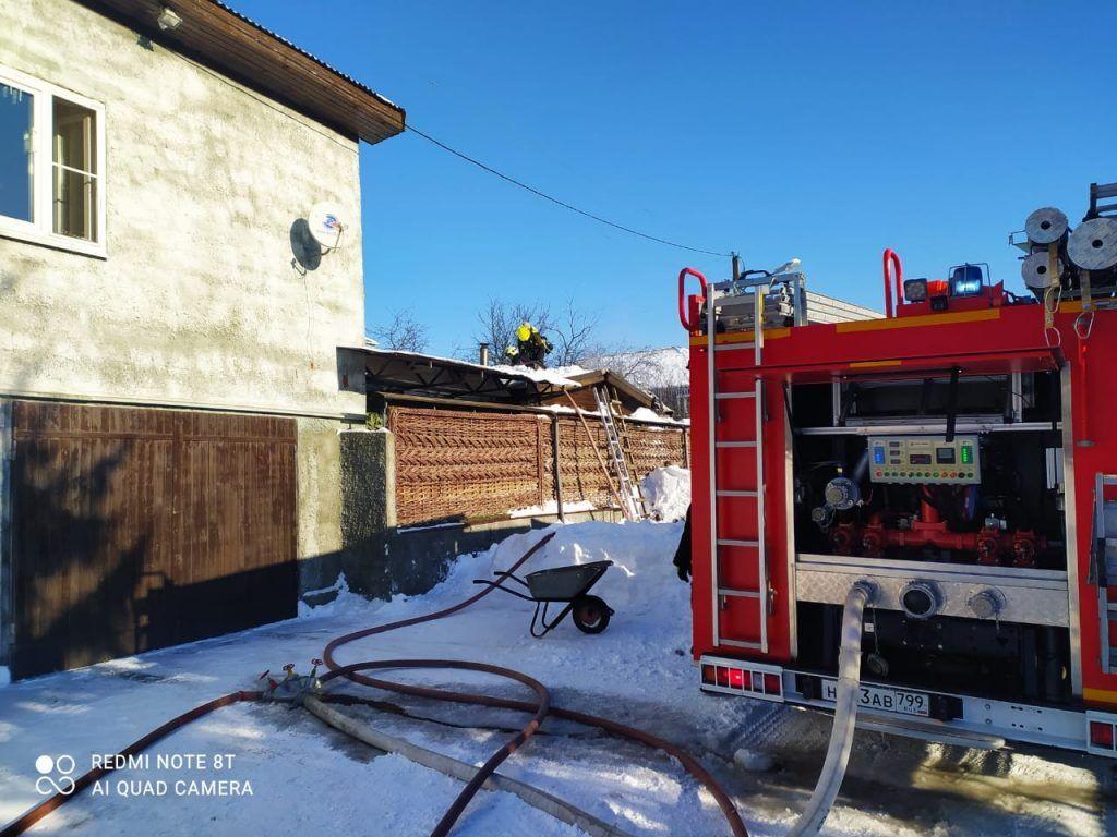 пожар, происшествия в Москве, пожарные