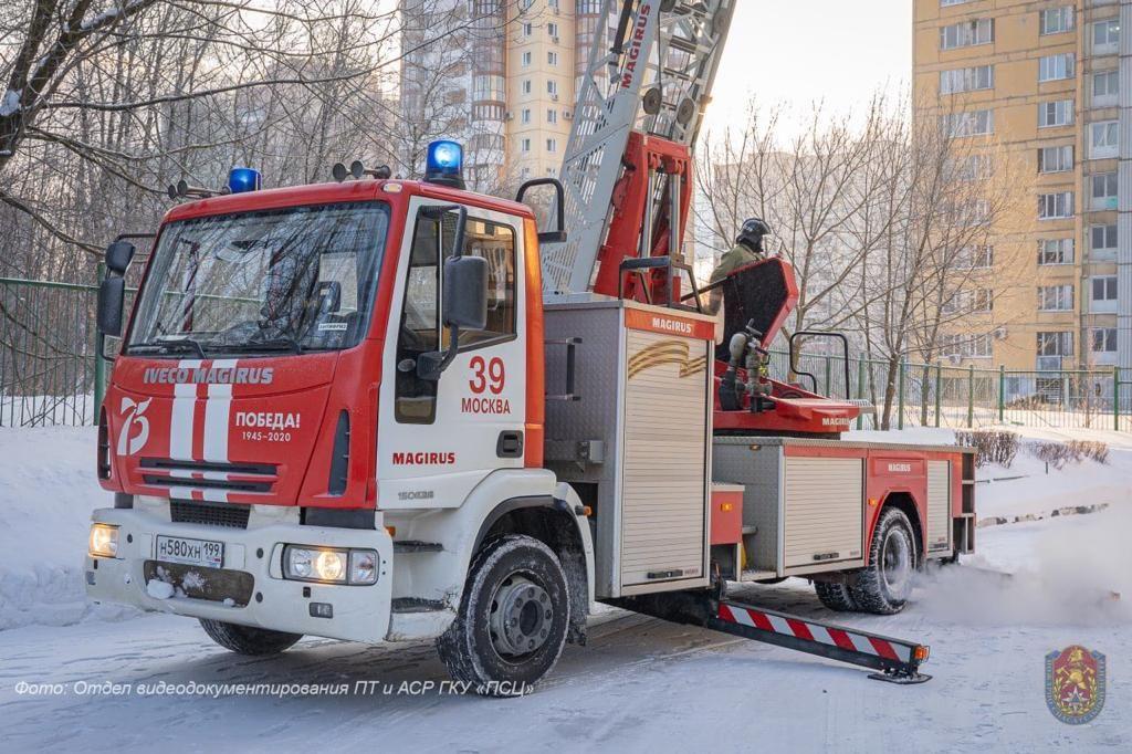 пожар, пожарные