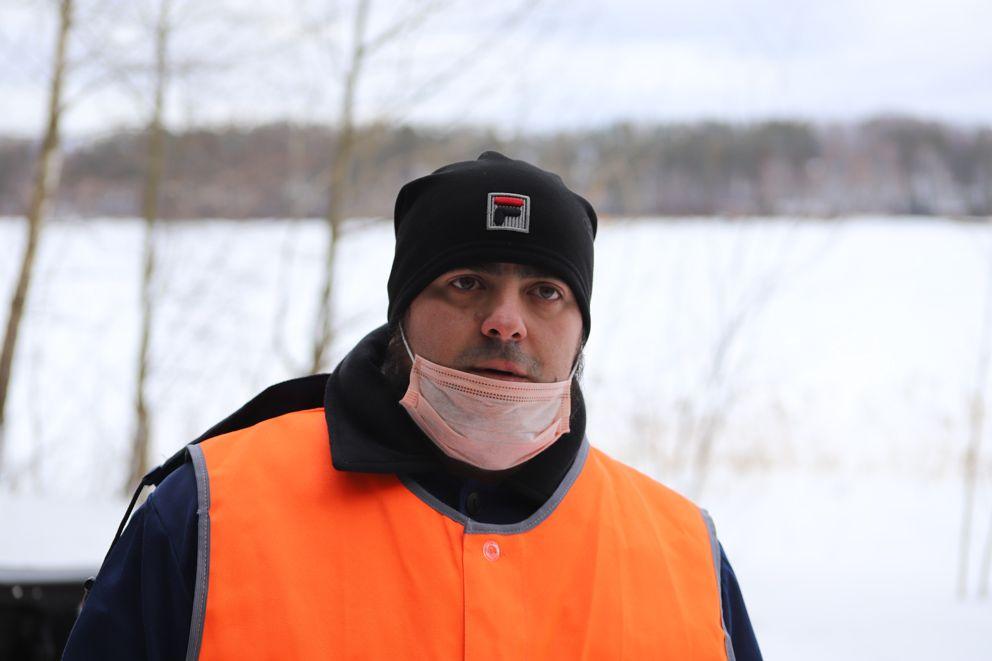 Андрей Меркулов, инженер-гидролог Истринского гидротехнического узла