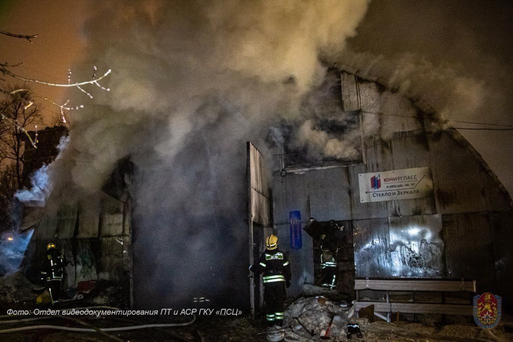 пожар, пожарные, происшествия в Москве