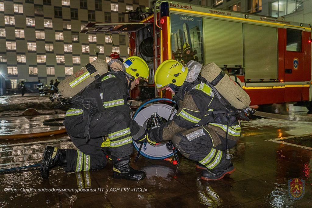 Департамент по делам гражданской обороны, пожар, происшествия в Москве, район Аэропорт