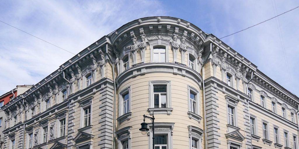 Тверской, крыши