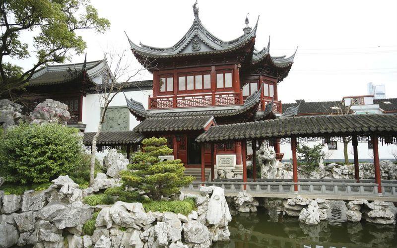 парк Хуамин, деловой центр