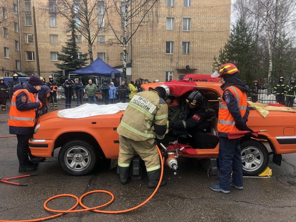 Спасатели, соревнования, Департамент гражданской обороны