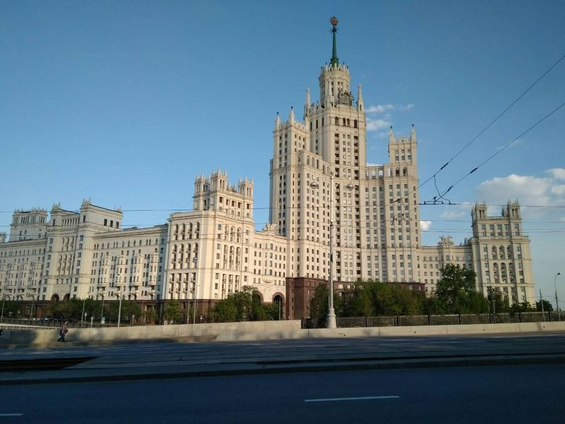сталинская высотка, Москва, город, дом