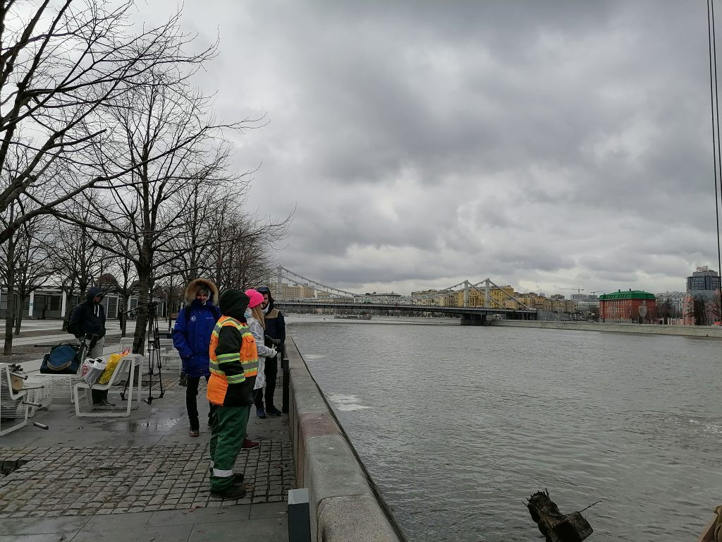 Мосводосток, свалка, водолазы, Москва-река, очистка реки