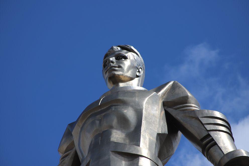 памятник Юрию Гагарину, реставрация