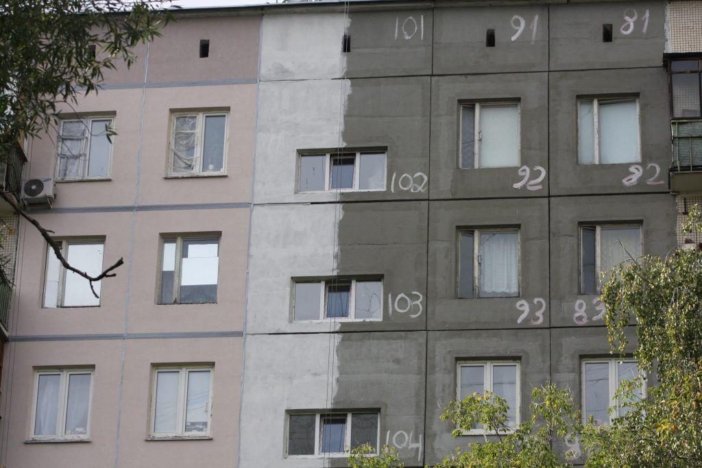 фасад, капремонт