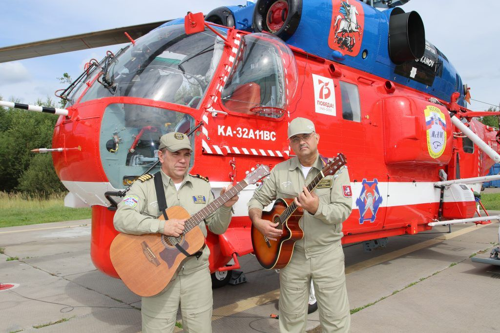 Андриан Логачев, вертолет, МАЦ