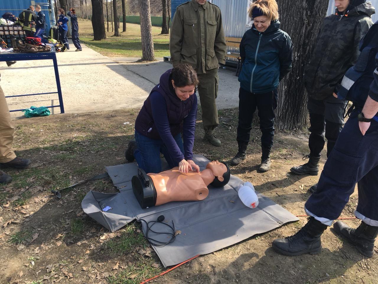 Апаринки, Департамент ГОЧСиПБ, соревнования, спасатели