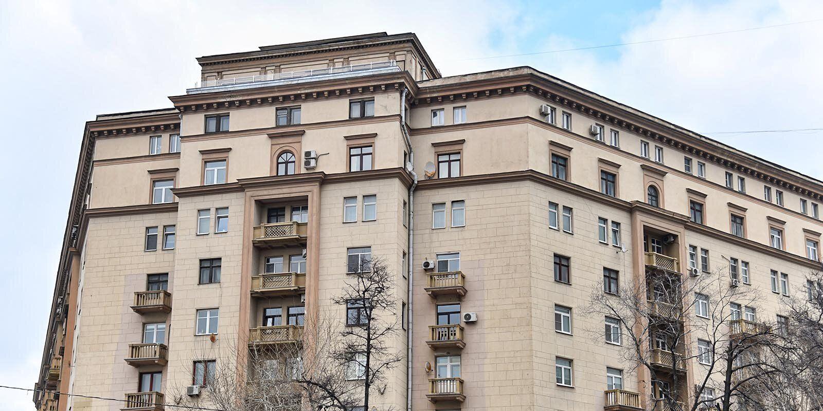 Якиманка, крыша