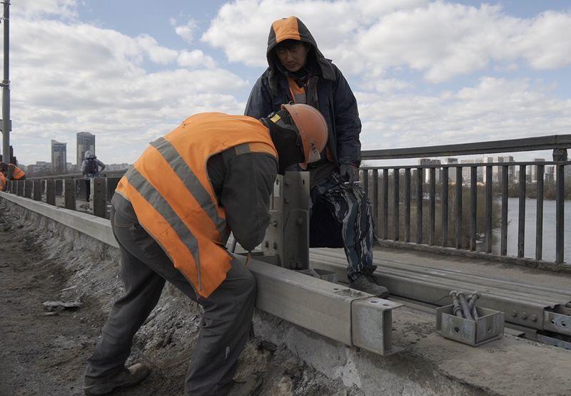 Строгинский мост, капремонт