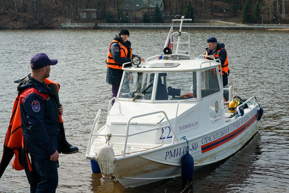 спасатели, водоем