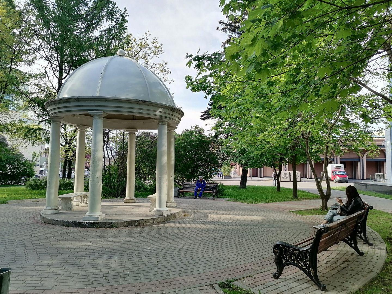 Славянский парк, благоустройство