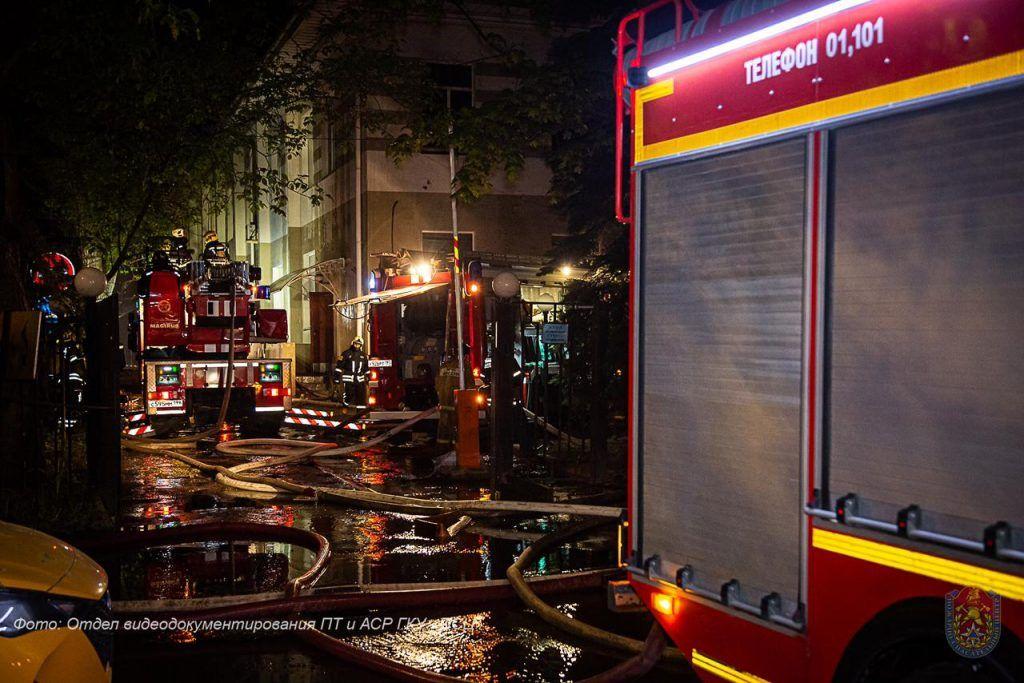 пожар, происшествия в Москве, ЗАо