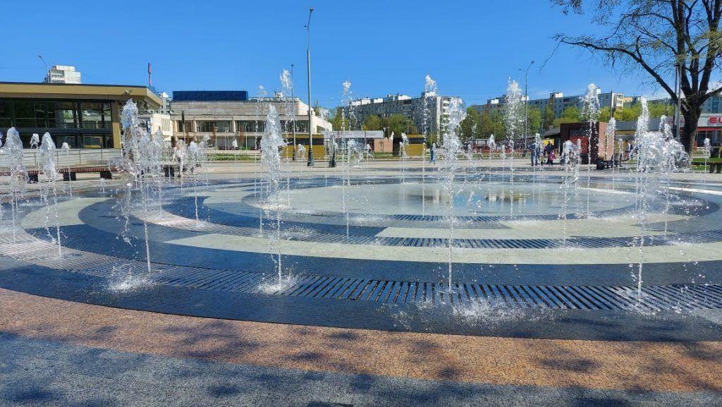 Наземный фонтан